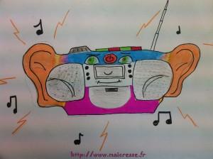 Magritte CM2 radio