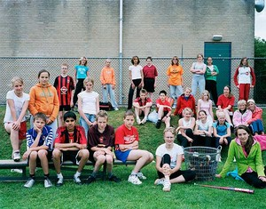 Holland, Heerenveen, Secondary Year 1, Sports Day