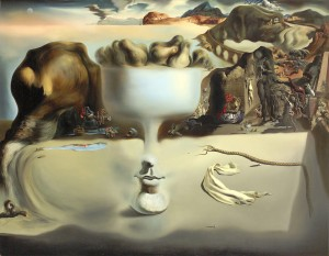 Salvador Dali Apparition of a Face and Fruit Dish on a Beach 1938