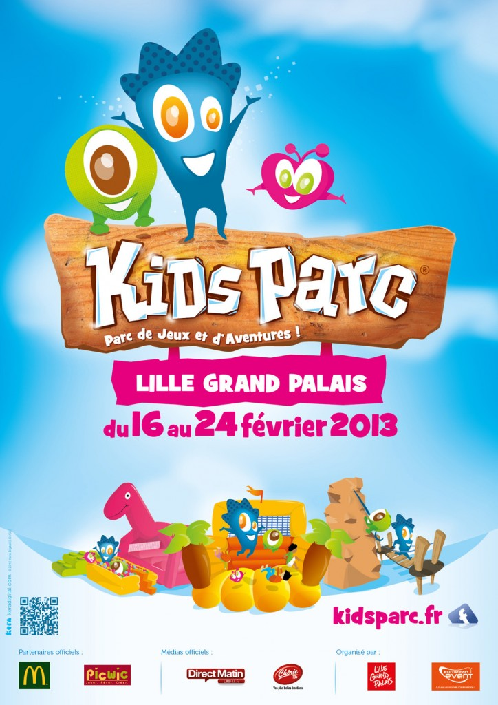 flyer kids parc lille 2013