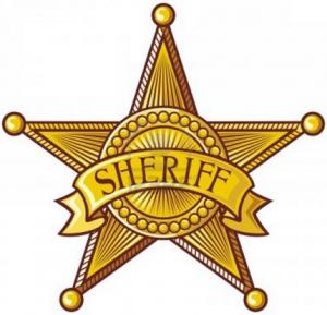 étoile du sheriff