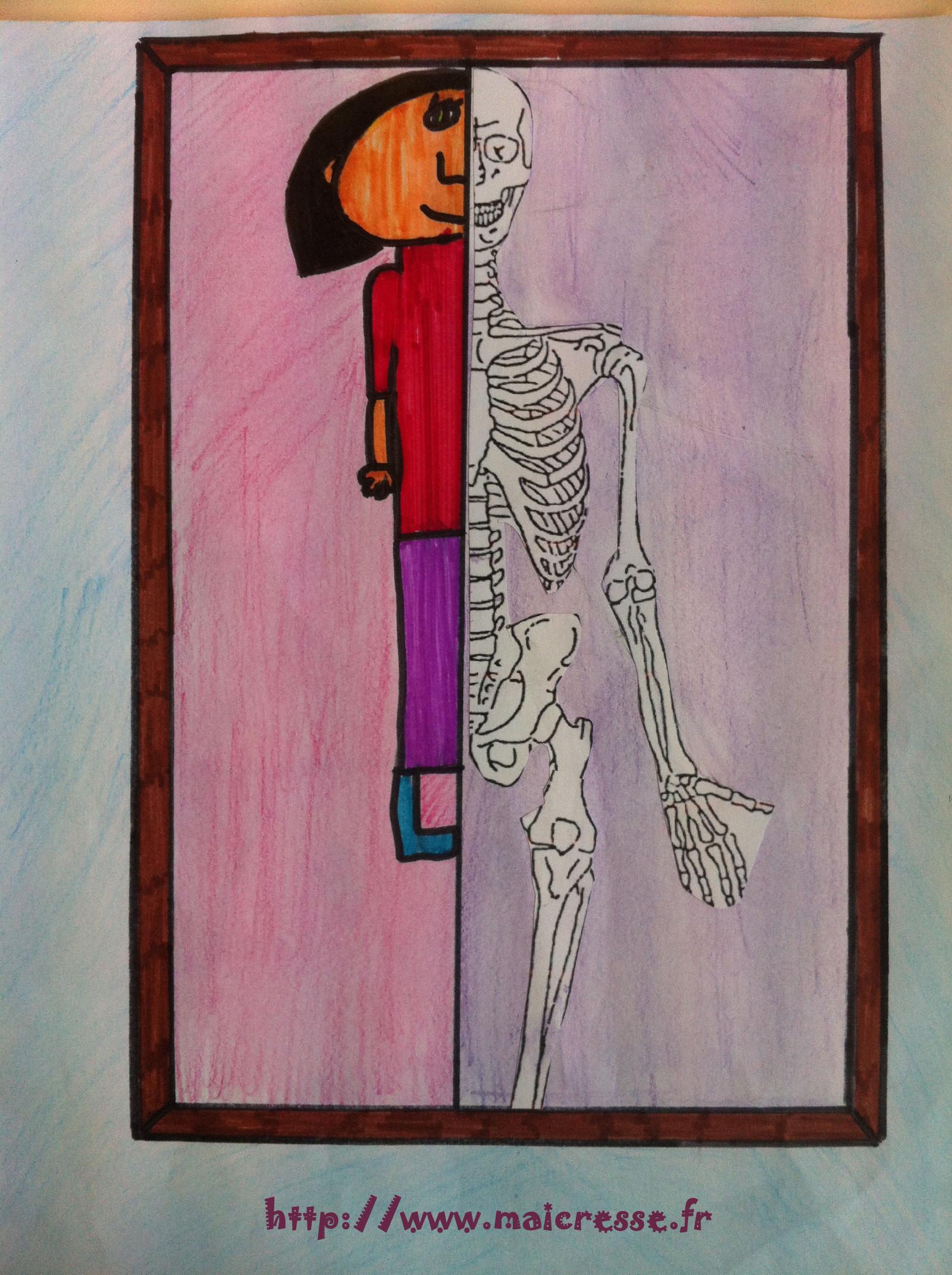 Magritte CM2 Squelette