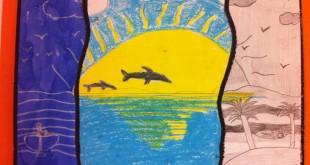 technique art visuel cycle 3 dauphin