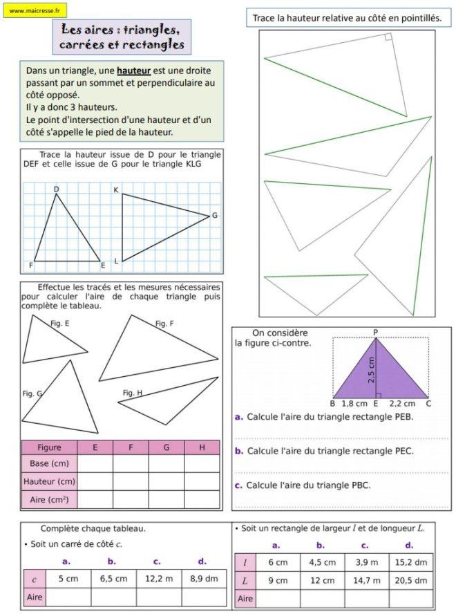 aire triangle