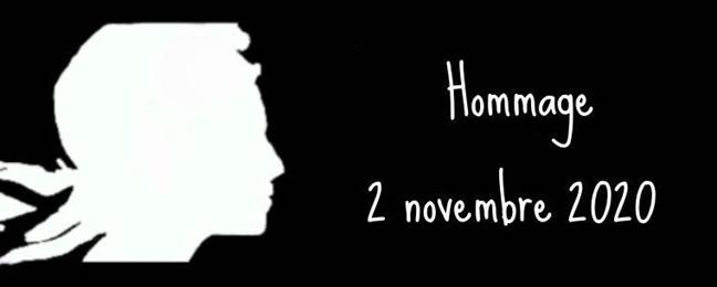 Hommage Samuel Paty rentrée 2 novembre