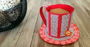 tuto Bricolage de Noël tasse de thé